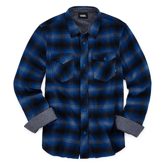 Vans Little & Big Boys Long Sleeve Button-Down Shirt