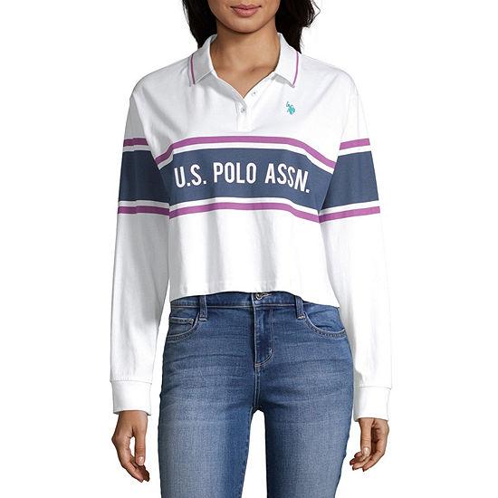 Us Polo Assn Womens Long Sleeve T Shirt Juniors