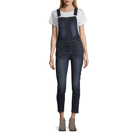 Wallflower Sleeveless Overalls-Juniors