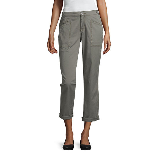 Unionbay Womens Slim Cargo Pant-Juniors
