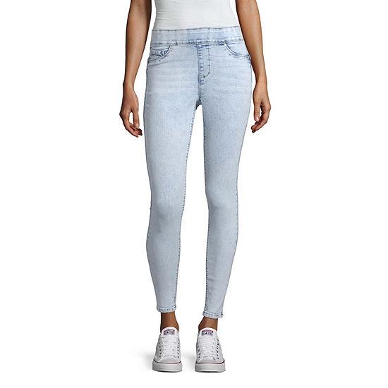 Blue Spice Womens High Waisted Skinny Regular Fit Jean Juniors