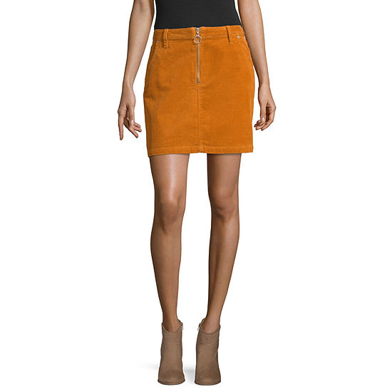 Arizona Womens Denim Skirt-Juniors