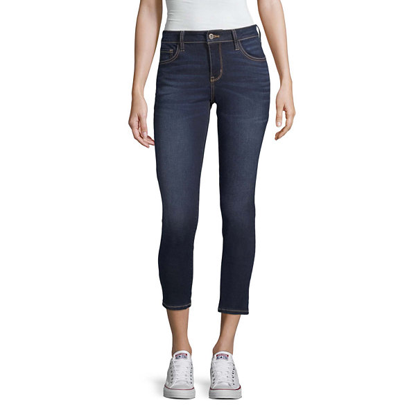Arizona Superflex Ankle Womens Skinny Stretch Jeggings - Juniors