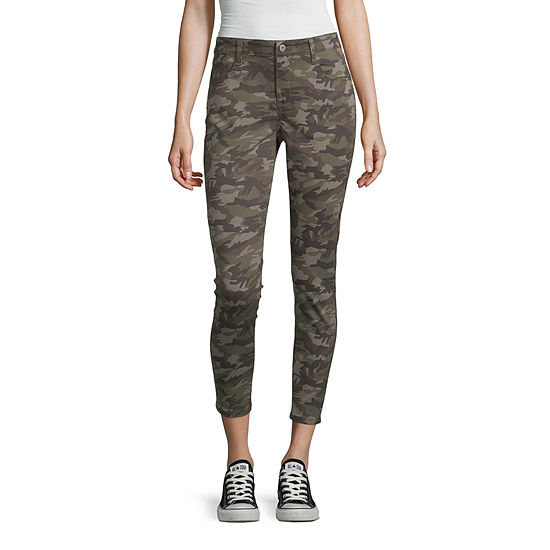 Arizona Skinny Fit Ankle Pant-Juniors