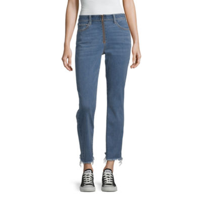 Arizona Womens Regular Fit Flare Jean - Juniors