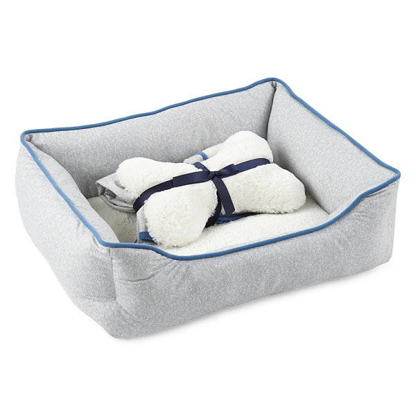 North Pole Trading Co. Polar Bear Family Pet Bed Set -Pet