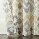 Home Expressions Sierra Ikat 2-Pack Rod Pocket Curtain Panels
