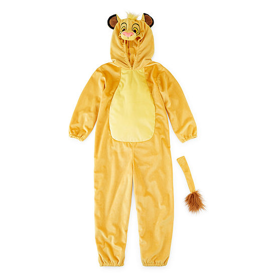Disney Collection 2-Pc. Lion King Simba Unisex Costume