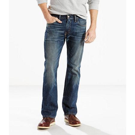 Levi's Men's 527 Slim Fit Bootcut Jeans, 32 34, Blue