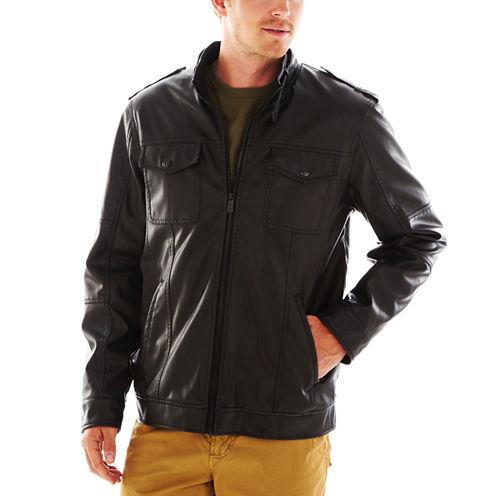 i jeans by Buffalo Faux-Leather Moto Jacket