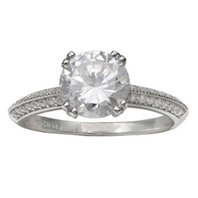 Silver Enchantment Cubic Zirconia Ring