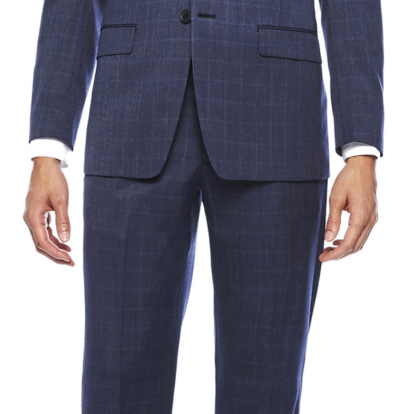 Collection by Michael Strahan Blue Classic Fit Jacket