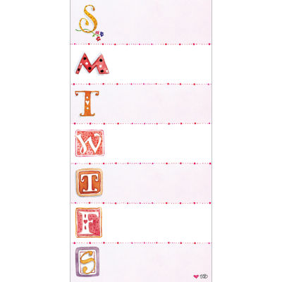 Susan Branch 70 Page Magnetic List Pad