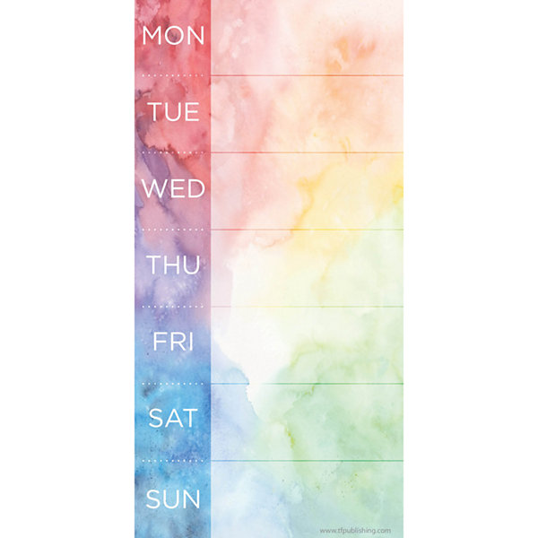Tie-Dye 70 Page Magnetic List Pad