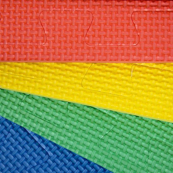 Stalwart 4-pack Multicolor Interlocking EVA Foam Floor Mats