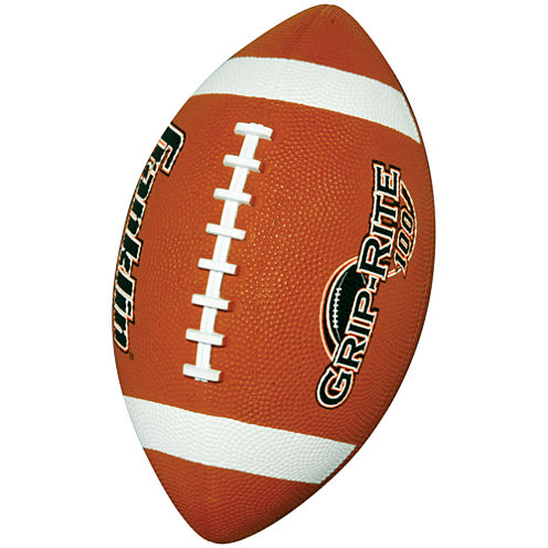 Franklin Sports Grip-Rite® 100 Rubber Football-Junior