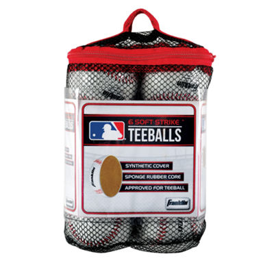 Franklin Sports 6-pk. MLB Soft Strike Teeballs