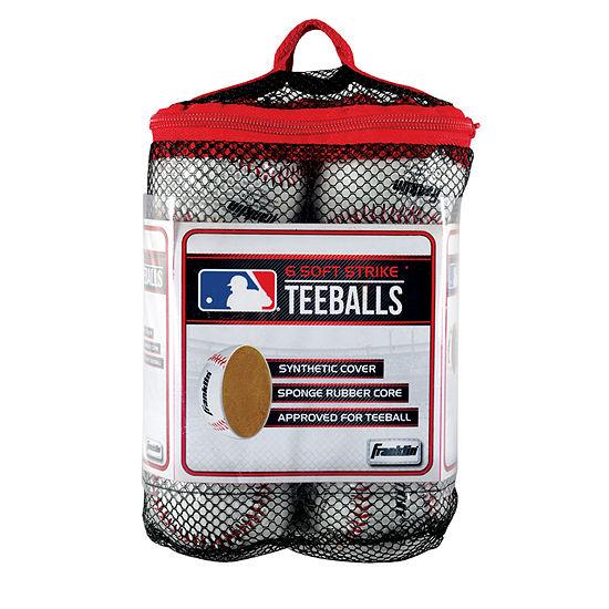 Franklin Sports 6-pk. MLB Soft Strike Teeballs