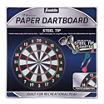 "Franklin Sports 17"" Paper Dartboard"