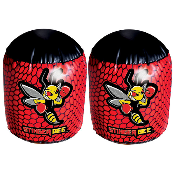 Franklin Sports Stinger Bee Punching Bag & Gloves