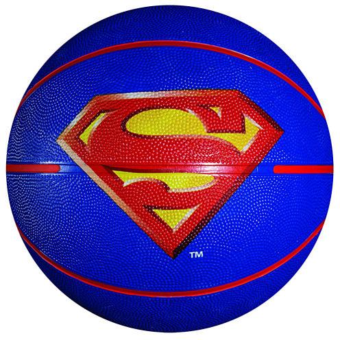 Franklin Sports Mini Rubber Basketball - Superman