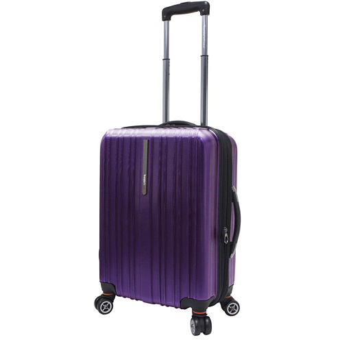 "Traveler's Choice® Tasmania 21"" Expandable Spinner Luggage"
