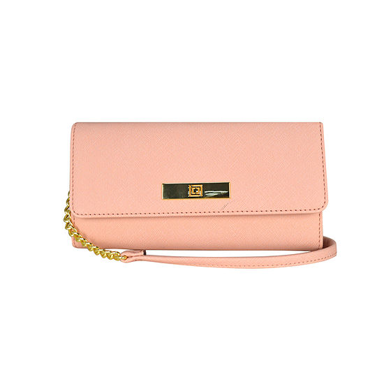 Liz Claiborne Charging Wallet Crossbody Bag