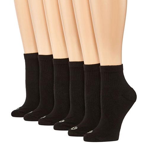Xersion 8 Pair Quarter Socks - Womens