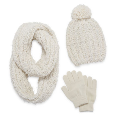 Total Girl 3-pc. Cold Weather Set-Big Kid Girls 7-16