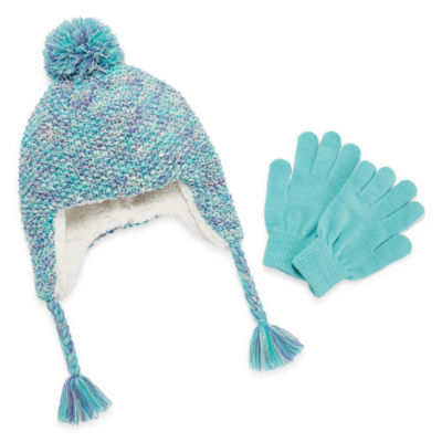 Capelli of N.Y. Pattern Cold Weather Set-Big Kid Girls 7-16