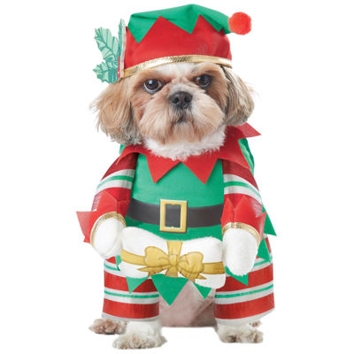 Elf Pup Pet Costume - Large