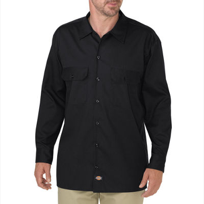 Dickies® Relaxed Fit Flex Twill Work Shirt - Big