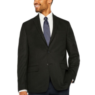 Claiborne Slim Fit Woven Checked Sport Coat - Slim