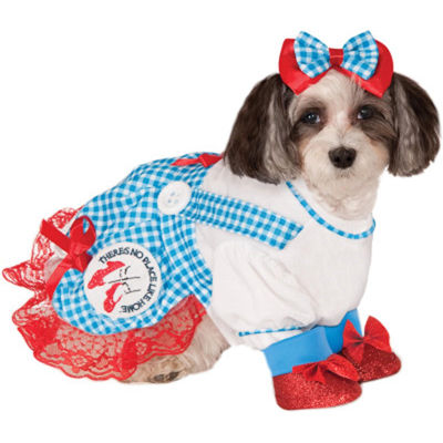 Buyseasons The Wizard Of Oz Dorothy Pet Costume