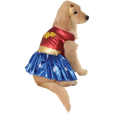 Buyseasons Wonder Woman Deluxe Pet Costume