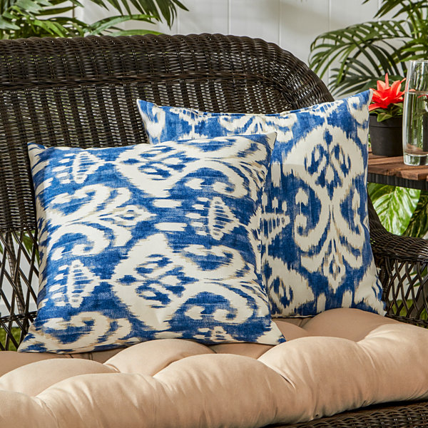 Jcpenney Outdoor Throw Pillows : Greendale Home Fashions Accent 2-pc. Outdoor Pillow - JCPenney