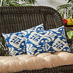 Greendale Home Fashions Square Outdoor Accent Pillows - Set of 2