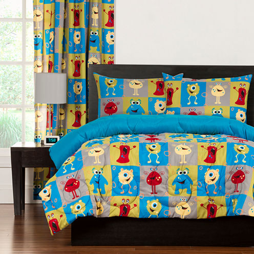 Crayola Monster Friends Comforter Set