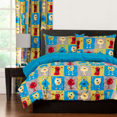 Crayola Monster Friends Comforter Set