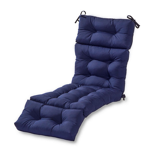 greendale home fashions 72 outdoor chaise lounge cushion jcpenney