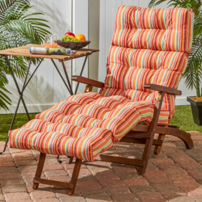 """Greendale Home Fashions 72"""" Outdoor Chaise Lounge Cushion"""