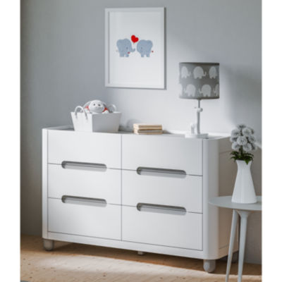 Storkcraft Roland 6-Drawer Nursery Dresser