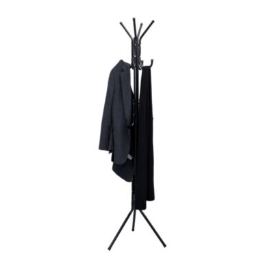 Mind Reader ' Hang' 11-Hook Coat, Jacket, Purse, And Scarf Rack