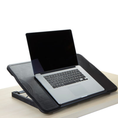 Mind Reader Folding Laptop Table With Adjustable Height