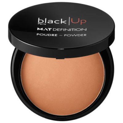 Black Up Mat Definition Powder