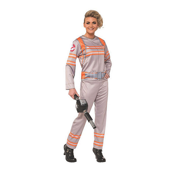 Classic Ghostbuster Female Adult 6-pc.Dress Up Costume Womens