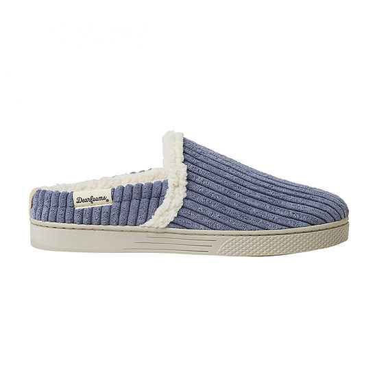 Dearfoams Corduroy Sneaker Womens Clog Slippers
