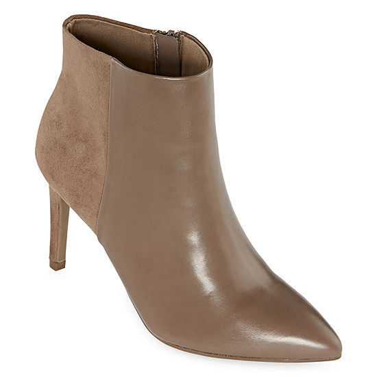Worthington Womens Lorna Booties Stiletto Heel