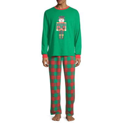 Sleepy Nites Buffalo Check Family Mens 2-pc. Pant Pajama Set
