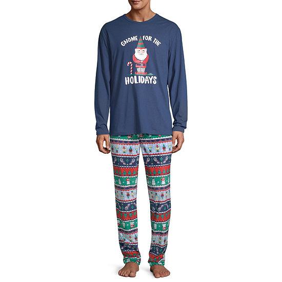 North Pole Trading Co. Fun Fairisle Family Mens 2-pc. Pant Pajama Set